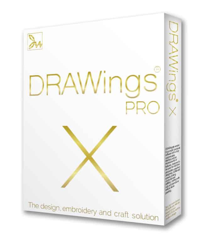 Software per ricamo DRAWings PRO